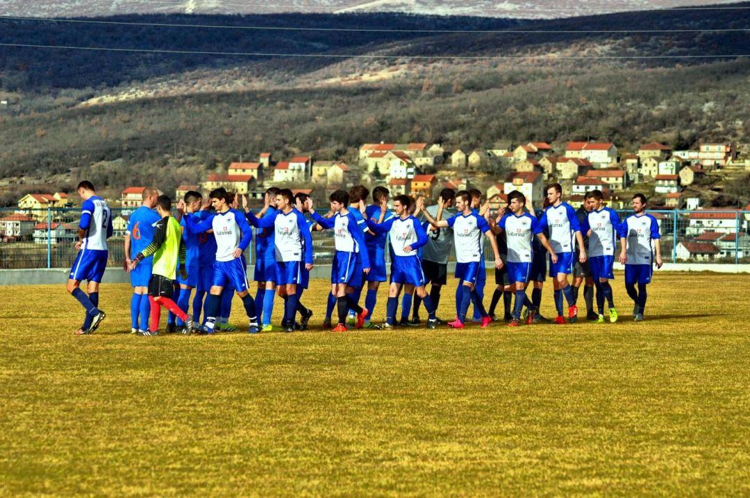 Detalj s prijateljske utakmice OSK - Kamešnica 6:1 (04.02.2017.)